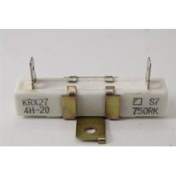 00187357 BOSCH HBN430220F/01 n°4 résistance céramique VDR pour four