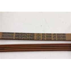 36529900 EL 1036 J4 courroie MEGADYNE pour lave linge