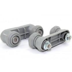 PROLINE FDP12649W n°23 Roulette de rail supérieur pour lave vaisselle