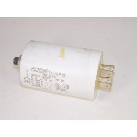 532001100 FAR L3000 22µF n°10 condensateur lave linge
