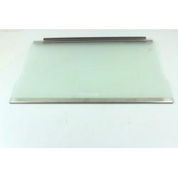 C00082621 INDESIT XRC34DE/D n°26 Clayette verre pour réfrigérateur