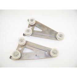 MIELE G665SC N°10 Roulettes pour panier inférieur pour lave vaisselle