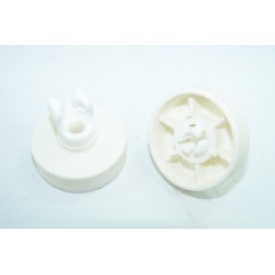 767410199 SMEG ELV472B n°26 Roulettes de panier inférieur pour lave vaisselle