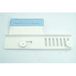 698290459 SMEG ELV472B n°25 Support avec roulettes de panier supérieur pour lave vaisselle