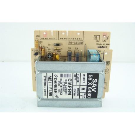 55X6430 VEDETTE EG1090-D/DF n°19 Module de puissance pour lave linge