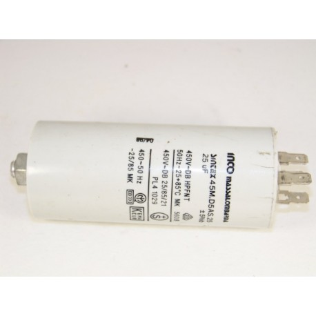 532001500 FAR 25µF n°15 condensateur lave linge