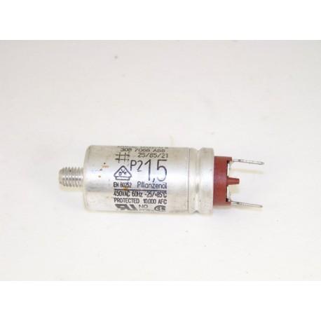 00058796 BOSCH SIEMENS 1,5µF n°16 condensateur lave linge