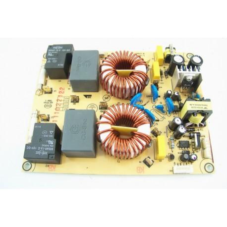 49019384 candy ci630c 1 n 227 module filtre hs pour plaque - Alimentation plaque induction ...