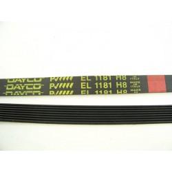 EL 1181 H8 courroie DAYCO pour lave linge