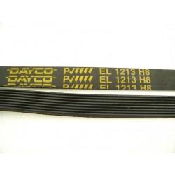 1213 H8 courroie DAYCO pour lave linge