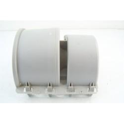 00497573 BOSCH WTE84103FF/22 n°21 Capot turbine moteur pour sèche linge