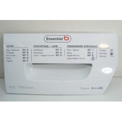 42053253 ESSENTIEL B ELF812D1 N°33 Façade de boîte à produit pour lave linge