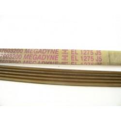 EL 1275 J5 courroie megadyne pour lave linge