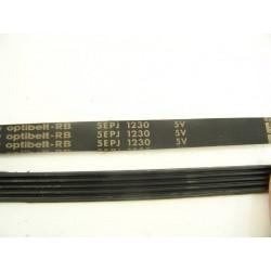 5EPJ 1230 OPTIBELT courroie pour lave linge