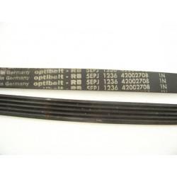 5EPJ 1236 OPTIBELT courroie pour lave linge