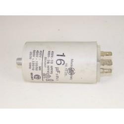 C00013582 INDESIT n°19 Condensateur 16µF lave linge