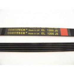 C00141664 EL 1205 J5 courroie CONTITECH pour lave linge