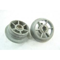 32X3117 BRANDT FAGOR n°54 roulette pour panier inférieur pour lave vaisselle