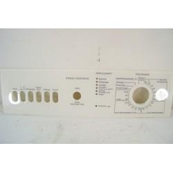 4203700 MIELE W800 n°316 bandeau pour lave linge