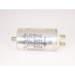 1240826204 FAURE 16µF n°23 condensateur lave linge