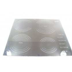 8298930 MIELE KM490 N° 6 Dessus de verre pour plaque induction