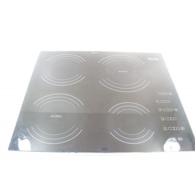 8298930 miele km490 n 6 dessus de verre pour plaque induction. Black Bedroom Furniture Sets. Home Design Ideas