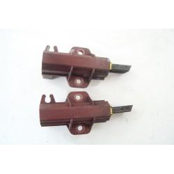 C00141663 INDESIT WITL90 N°14 Charbon moteur biseau droit pour lave linge