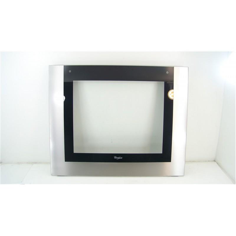 481010581655 whirlpool akzm786 ix n 76 vitre exterieur pour porte de four. Black Bedroom Furniture Sets. Home Design Ideas