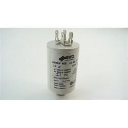 92215292 CANDY AQUAMATIC6T n°25 condensateur 7.5 µF lave linge