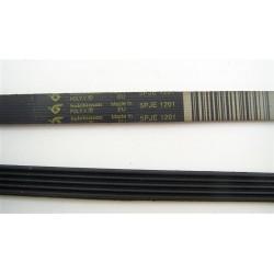 5 PJE 1201 courroie HUTCHINSON pour lave linge C00145552