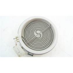 C00260941 ARISTON KRO642TOB n°109 foyer D165 1200W vitrocéramique pour plaque de cuisson