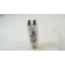 57X0632 BRANDT ETE6506F/B n°115 Condensateur 8µF de sèche linge d'occasion