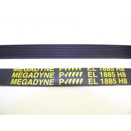 1885 H8 megadyne courroie pour sèche linge