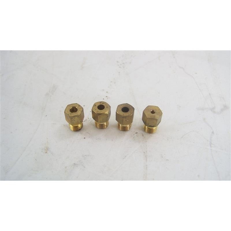 49011067 candy ccg5540pw1 n 6 injecteur gaz pour four et. Black Bedroom Furniture Sets. Home Design Ideas