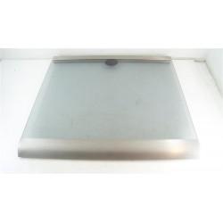 42360578 CANDY CCG5540PW1 n°136 Couvercle du dessus en verre pour plaque de cuisson d'occasion