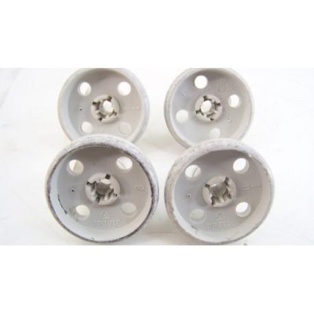00028020 BOSCH SN55300/01 n°3 Roulette de panier inférieur pour lave vaisselle