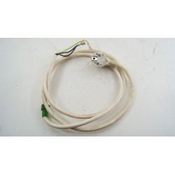 00497724 BOSCH WTE8400FF/01 N°12 câble alimentation pour sèche linge