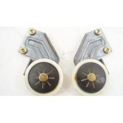 4104370 MIELE G647SCI PLUS n°4 roue de porte pour fermeture lave vaisselle