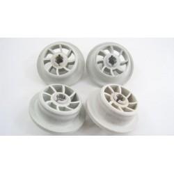 1885900600 BEKO DFN6836 n°2 Roue inférieur de panier inférieur pour lave vaisselle