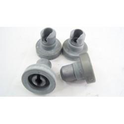 91601248 CANDY CDF8348/1-47 N°14 Roulettes panier pour lave vaisselle