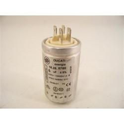 ARTHUR MARTIN ADC5330 n°22 condensateur 6µF sèche linge