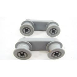 698412505 SMEG n°12 Roulette de rail supérieur pour lave vaisselle