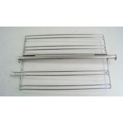 210440121 LEISURE CK90F324R N° 108 Grille latéral droite avec rail pour cuisinière piano d'occasion