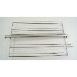 210440122 LEISURE CK90F324R N° 109 Grille latéral gauche avec rail pour cuisinière piano d'occasion