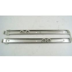 5967070 MIELE N°15 kit rail et Roulettes pour panier supérieur de lave vaisselle