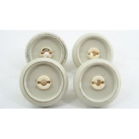 2372351 MIELE N°4 Roulettes pour panier inférieur pour lave vaisselle