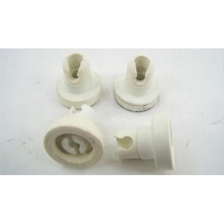 92655596 CANDY CD245 N°3 Roulettes pour panier supérieur pour lave vaisselle