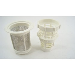 49011686 CANDY CEDS20W47 n°135 Gros Filtre inox pour lave vaisselle d'occasion