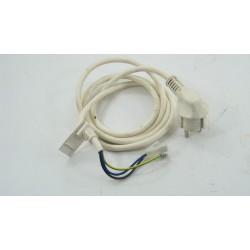 C00064563 INDESIT W63FR N°93 câble alimentation pour lave linge d'occasion