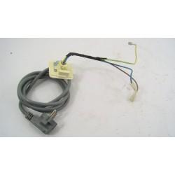52X1471 BRANDT WFH1166F N°112 Câble alimentation pour lave linge d'occasion